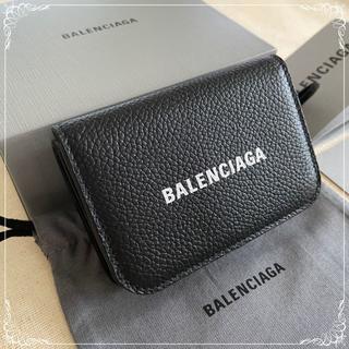 バレンシアガ(Balenciaga)の早いもの勝ち♪新品☆BALENCIAGA☆三つ折り財布 Black(折り財布)