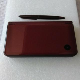 ニンテンドーDS(ニンテンドーDS)のニンテンドーDSi LL 本体 ワインレッド(携帯用ゲーム機本体)