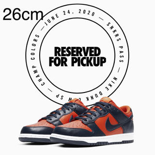 ナイキ(NIKE)のNIKE DUNK LOW SP UNIVERSITY ORANGE 26cm(スニーカー)