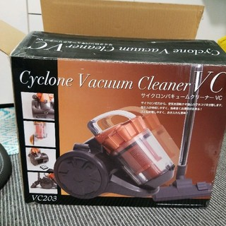 サイクロンバキュームクリーナーVC/オレンジ(掃除機)