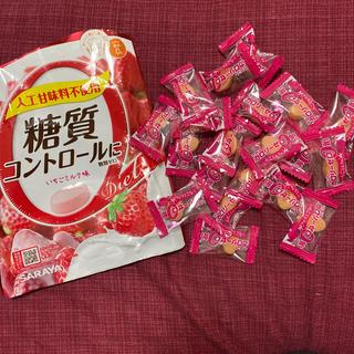 サラヤ(SARAYA)のラカント飴 ストロベリー(菓子/デザート)