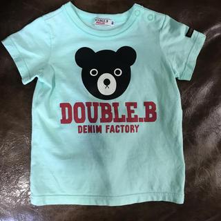 ダブルビー(DOUBLE.B)のDOUBLE.B Tシャツ 80㌢(Tシャツ)