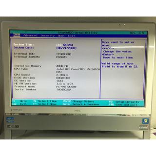 NEC - NEC VALUESTAR  VN770/D PC 一体型