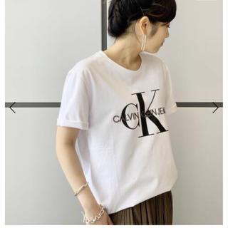 カルバンクライン(Calvin Klein)のCALVIN KLEIN JEANS CKモノグラムTシャツ(Tシャツ(半袖/袖なし))