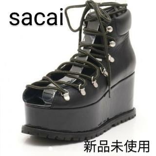 サカイ(sacai)のsacai ビブラム ソール 厚底 サンダル サカイ マウンテン ブーツ(サンダル)