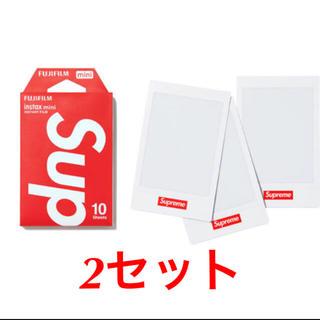 シュプリーム(Supreme)のFujifilm instax Mini InstantFilm 2セット(フィルムカメラ)