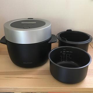 バルミューダ(BALMUDA)のバルミューダ 炊飯器 ブラック(炊飯器)