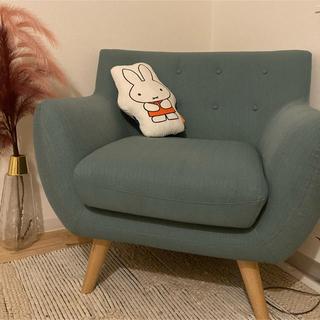 イケア(IKEA)の明日削除します。最終NOCE 北欧風一人がけソファ(一人掛けソファ)