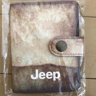 ジープ(Jeep)の新品 jeep カードケース(ノベルティグッズ)