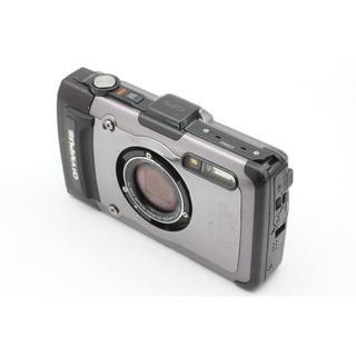 オリンパス(OLYMPUS)のOLYMPUS デジタルカメラ TG-1 シルバー(デジタル一眼)
