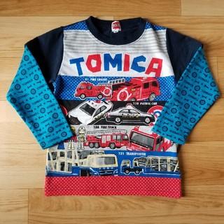 タカラトミー(Takara Tomy)のトミカ  長袖Tシャツ 110cm(Tシャツ/カットソー)