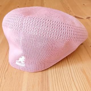 カンゴール(KANGOL)のKANGOL ピンク ハンチング(ハンチング/ベレー帽)