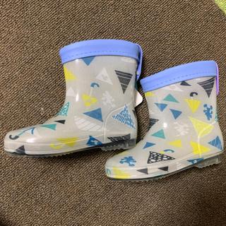 ディズニー(Disney)の新品 未使用品 クッカヒッポ長靴 ミッキー14センチ(長靴/レインシューズ)