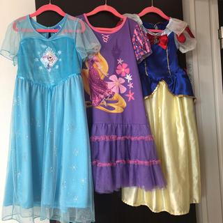 Disney - 美品 ディズニー ドレス ワンピース 白雪姫 アナと雪の女王エルサ ラプンツェル