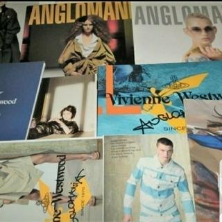 ヴィヴィアンウエストウッド(Vivienne Westwood)の🎮ぽよ専用🎮インポート🌟アングロマニア★ルックブック📕9冊ヴィヴィアン(ノベルティグッズ)