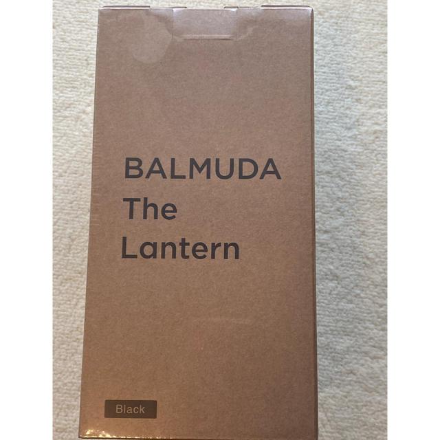 BALMUDA(バルミューダ)のバルミューダ ザ・ランタン ブラック スポーツ/アウトドアのアウトドア(ライト/ランタン)の商品写真