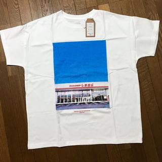 シマムラ(しまむら)のしまむら 昼店舗フォトプリントTシャツ L(その他)