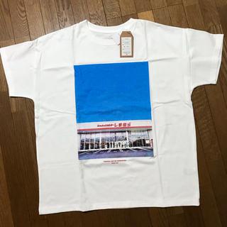 シマムラ(しまむら)のしまむら 昼店舗フォトプリントTシャツ M(その他)