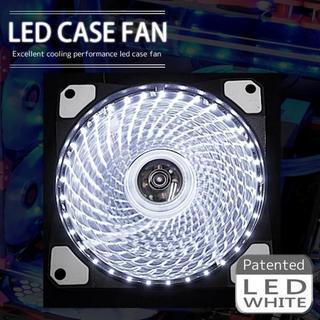 LED ケースファン 12cm 120mm PCケース パソコン 水冷 空冷(PCパーツ)