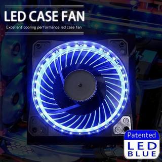 LED ケースファン 12cm 120mm PCケース パソコン 水冷 冷却(PC周辺機器)