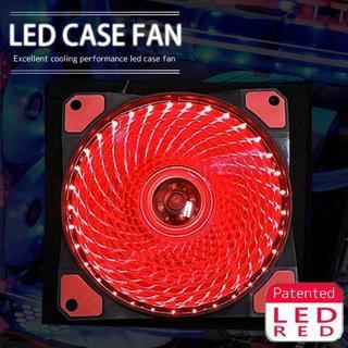 LED ケースファン 12cm 120mm パソコンケース PC 水冷 空冷(デスクトップ型PC)