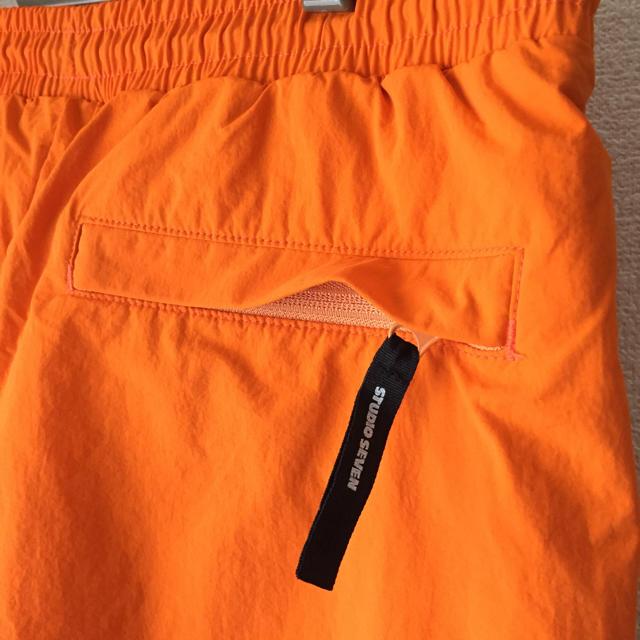 GU(ジーユー)の☆17日まで☆Lサイズ GU×STUDIO SEVEN ジョガーパンツ オレンジ メンズのパンツ(ワークパンツ/カーゴパンツ)の商品写真