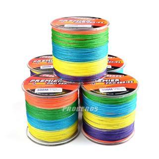 PEライン 高強度 PRO  1号 15lb・300m巻き 5色 カラー 釣り糸(釣り糸/ライン)