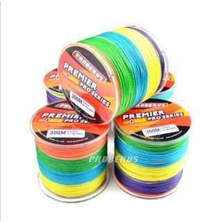 PEライン 高強度 PRO 2号 25lb・300m巻き 5色 カラー 釣り糸(釣り糸/ライン)