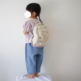 シンプル リュック バックパック 通園バッグ 韓国子供服(通園バッグ)
