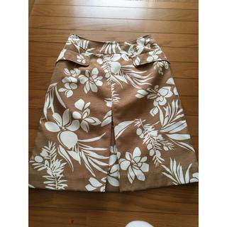 ビアッジョブルー(VIAGGIO BLU)の美品ビアッジョブルー スカート (ひざ丈スカート)
