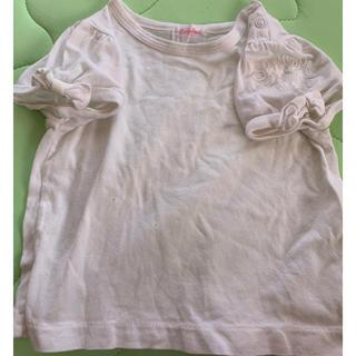 シャーリーテンプル(Shirley Temple)の即決★シャーリーテンプル★白の半袖Tシャツ★80(Tシャツ)