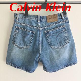 カルバンクライン(Calvin Klein)のカルバンクライン ショートパンツ 夏 デニム ジーンズ 古着 ウィメンズ t(ショートパンツ)