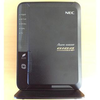 エヌイーシー(NEC)の<値下げ>NEC PA-WG600HP 無線LANルーター(中古) ※送料無料(PC周辺機器)