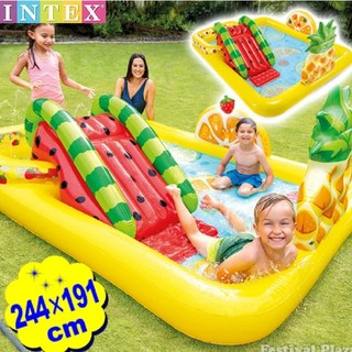 インデックス(INDEX)のintex プール ビニールプール 家庭用プール キッズ 子供 大型(マリン/スイミング)