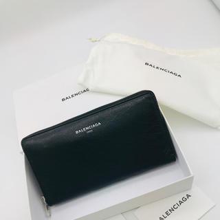 バレンシアガ(Balenciaga)のバレンシアガ   BALENCIAGA 長財布 財布 ブラック 新品 セール(長財布)