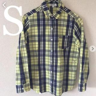 アンタイトル(UNTITLED)のアンタイトル デッサン チェックシャツ  S(シャツ/ブラウス(長袖/七分))