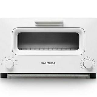 バルミューダ(BALMUDA)の新品未使用 BALMUDA バルミューダ トースター 白 (調理機器)
