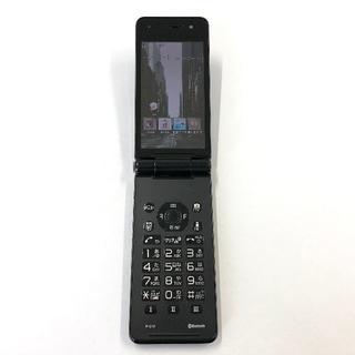 パナソニック(Panasonic)のdocomo P-01F ブラック(携帯電話本体)