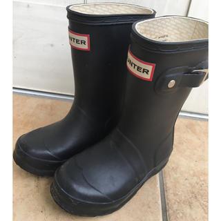 ハンター(HUNTER)のHUNTERキッズ レインブーツ 長靴(長靴/レインシューズ)