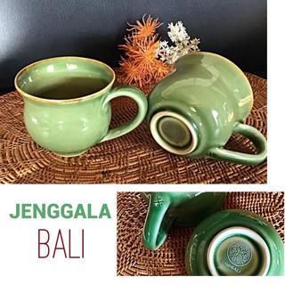 ジェンガラ(Jenggala)のジェンガラ コーヒーカップ 2個 バリ島 ジェンガラ・ケラミック(グラス/カップ)