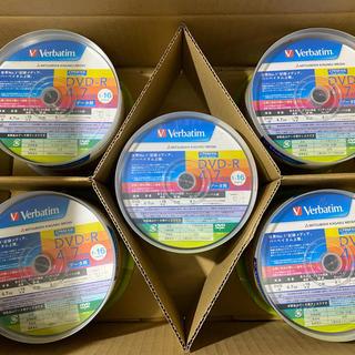 ミツビシ(三菱)のバーベイタム DHR47JDP50V1 DVD-R 4.7GB 50枚×5(PC周辺機器)