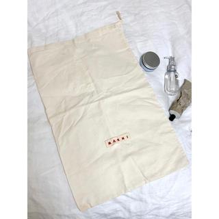マルニ(Marni)の非売品【MARNI マルニ】不織布 ショップ袋 巾着 シューズケース(ショップ袋)
