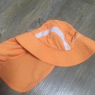 モンベル(mont bell)のモンベル  サハラ ハット ベビー オレンジ ノースフェイス (帽子)