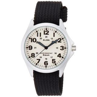 アルバ(ALBA)の ALBAアルバ 腕時計 クオーツ ブラック(腕時計(アナログ))