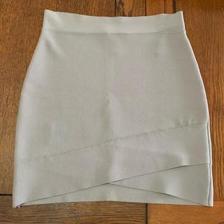 ビーシービージーマックスアズリア(BCBGMAXAZRIA)のBCBG MAXAZRIA タイトスカート バンテージ(ミニスカート)