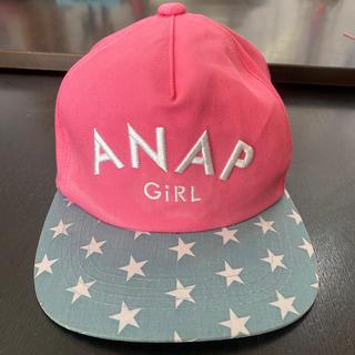 アナップキッズ(ANAP Kids)の可愛い★ANAP GiRL キャップ★キッズ★帽子★(帽子)
