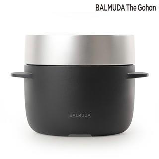 バルミューダ(BALMUDA)のBALMUDA the gohan 炊飯器 K03A ブラック(炊飯器)
