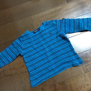 バーバリー(BURBERRY)のPia様専用 バーバリー ボーダー長袖シャツ 80サイズ (その他)