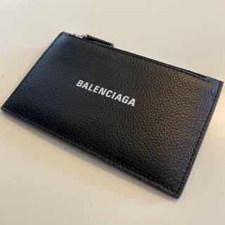 バレンシアガ(Balenciaga)の【新品】バレンシアガ BALENCIAGA カードケース/コインケース ブラック(長財布)