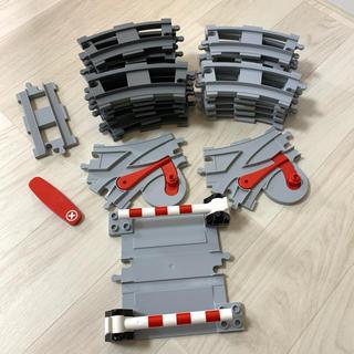 レゴ(Lego)のデュプロ  dupro  レールセット(電車のおもちゃ/車)